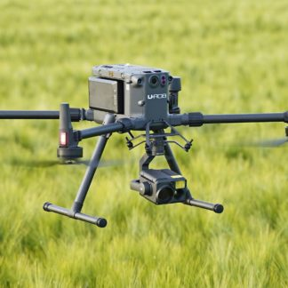 Drohne im Gras