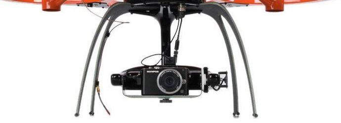 Kameraaufhängung Aibot X6