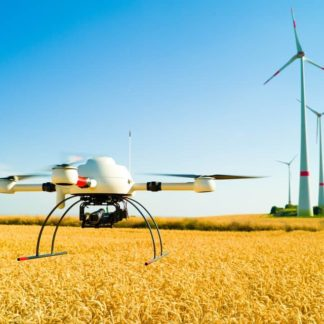 Drohne Erstflug