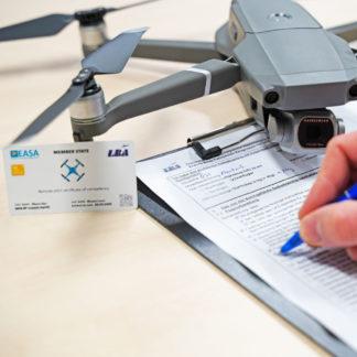 Grundlagenschulung - A1/A3 sowie A2 EU-Drohnenführerschein inkl. Praxis