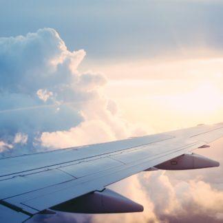 Flugzeug Transport